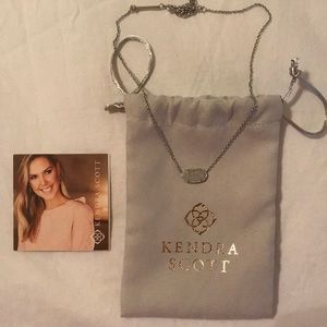 Kendra Scott Elisa Necklace Iridescent Drusy